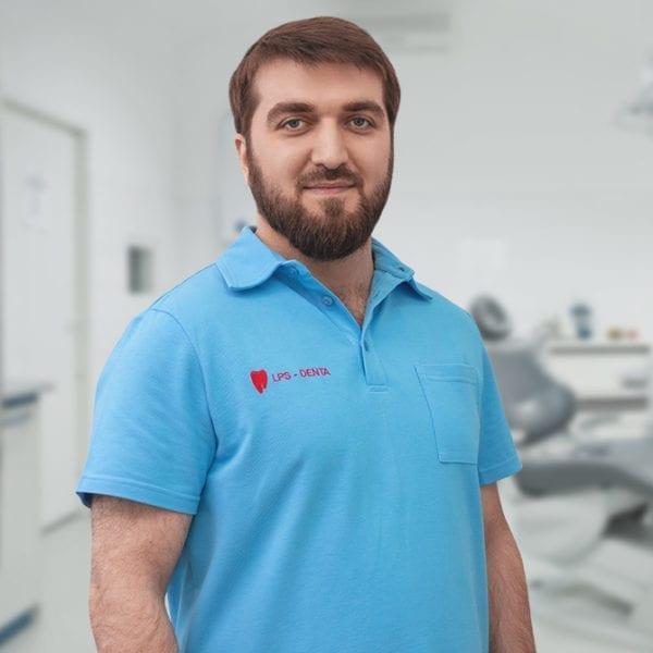Раджабов Гаджи Раджабович - стоматолог терапевт, хирург, ортопед